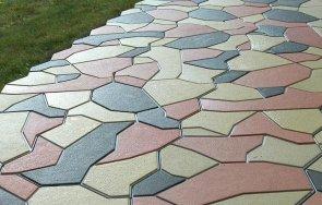 Вибролитая тротуарная плитка – идеальное решение для отделки подъездной тер ...