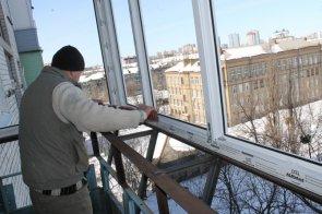 Остекление балконов в зимний период