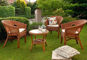 Плетеная мебель из ротанга - идеальное решение для дачи