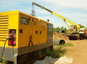 Как выбрать дизельные генераторы для строительных площадок