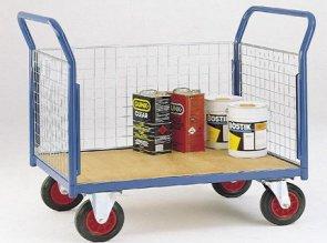 Использование складских тележек на складах строительных материалов