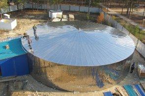 Область применения стальных сборных резервуаров
