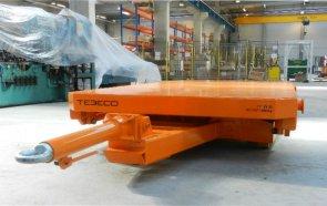 Особенности платформенных тележек для перемещения строительных материалов