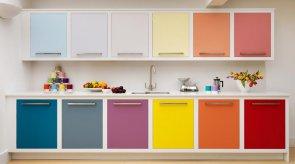 Как выбрать цвет кухонного гарнитура